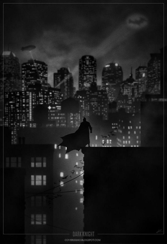 Superhero-Noir