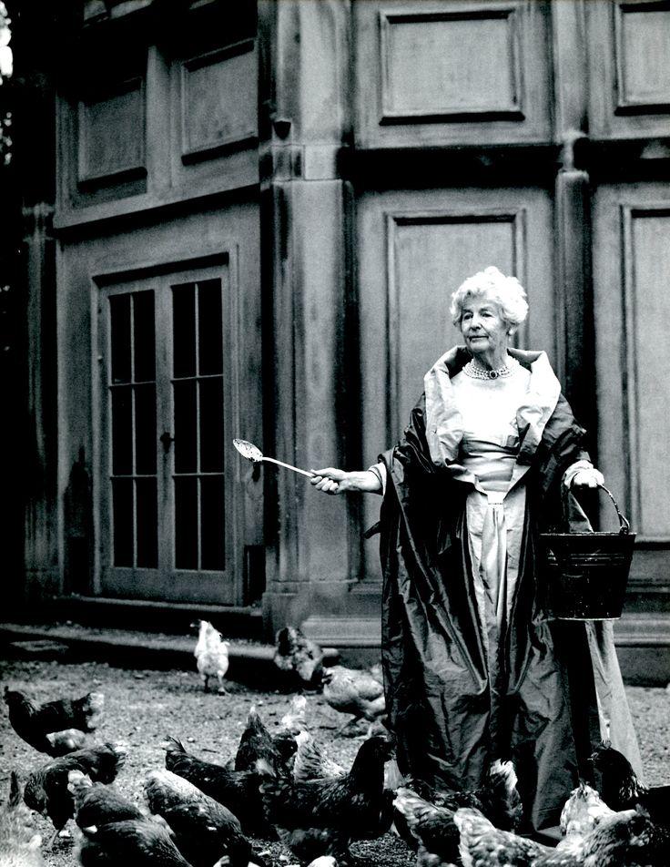 Bruce Weber photogaph - Deborah Mitford, the late Duchess ...