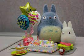 Resultado de imagen para feliz cumpleaños totoro