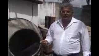 PRODUÇÃO DE CONCRETO CELULAR EM OBRA - YouTube