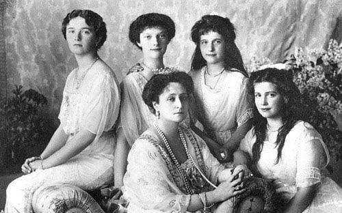 Empress Alexandra and her daughters: Royal, Imperial Russia, Daughter, Grand Duchess Olga, Romanov Family, Empress Alexandra, Anastasia
