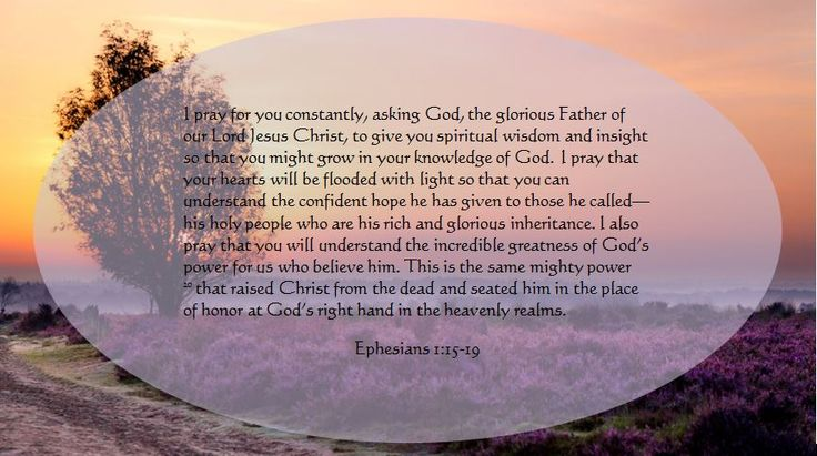 Image result for Ephesians 1:15-16 bible image