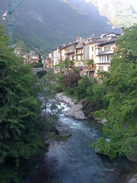 Chiavenna a nice stop after the Splugen pass