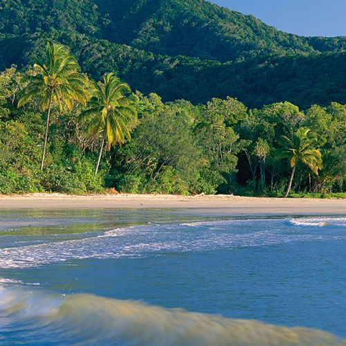Cape Tribulation - Australia. Rainforest meets reef. Love this place.