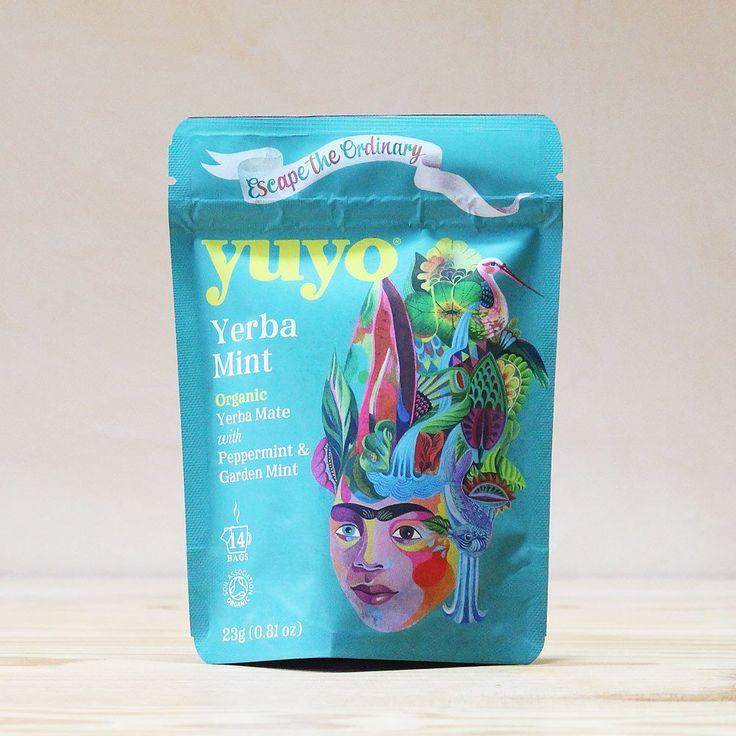 Yerba Maté Mint - Menthe poivrée et Menthe du jardin -  Yuyo #tea #thé
