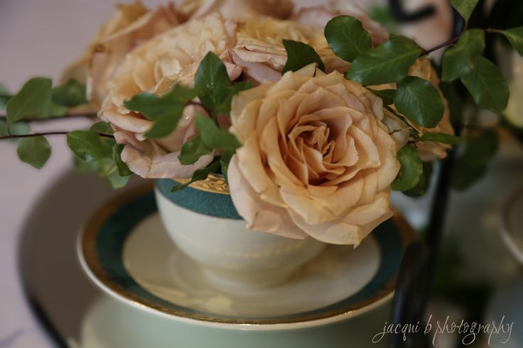 Teacup from my great Uncle.  We used the teacups to create centerpieces at  my mothers 70th birthday.  Each teacup had belonged t family members and had a small tag to explain where it came from.