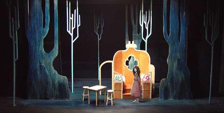 Hansel and Grettel. Pavilion Theatre. Set Design by Stuart Marshall. 2005