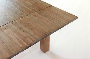 Esstisch Designer Tisch MASSIV Massivholz 140/210 x 90cm Esszimmertisch   eBay