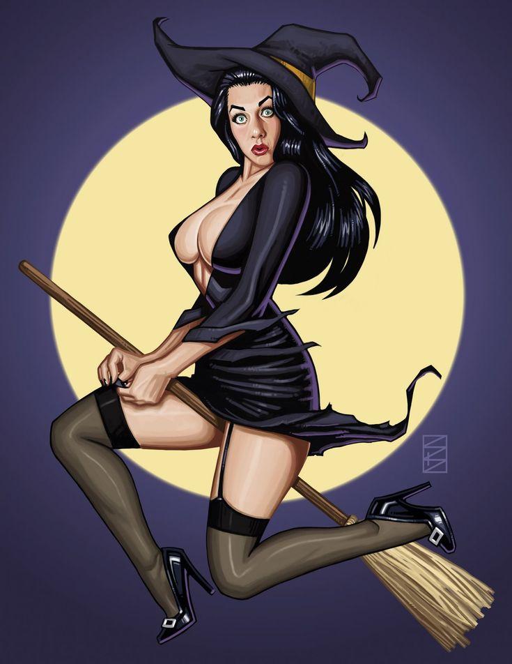 Black hair witch sex