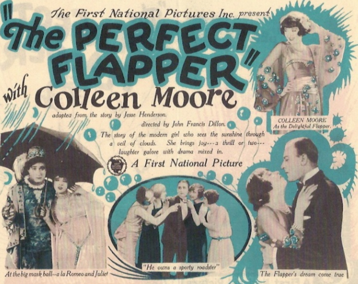 Vintage Poster - The Perfect Flapper