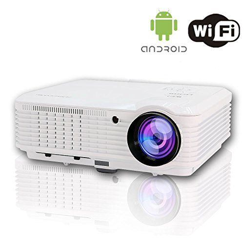 Caiwei Digital Led Projector Home Theater Beamer Lcd: CAIWEI Digital Projector (Native 1280*800) Portable Led