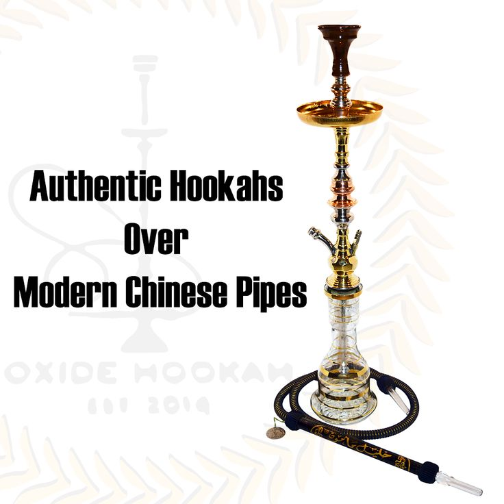 AuthenticEgyptianHookahs Over Modern Chinese Pipes Egyptian pipes are manufactured solely where hookah/shisha smoking initiallybecame a cultural trend and tradition, Egypt. Top brands such as Khalil Mamoon & Shika are designedof only the highest qualityand safest materials to smoke from. They are made out of brass and are either welded by hand (Khalil Mamoon) or perfected by machine (Shika). Egyptian pipes are also built to last for a lifetime. This will help prevent replacing ...