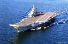 Chinese aircraft carrier Liaoning, People's Liberation Army Navy (PLAN).
