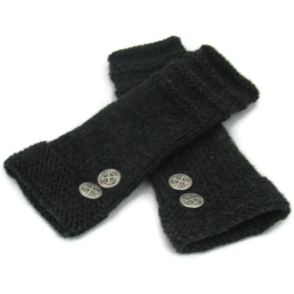 Knit Fingerless Gloves, Texting Gloves, Arm Warmers, Knit Gloves,... ($45) ❤ liked on Polyvore featuring accessories, gloves, fingerless arm warmers, gray fingerless gloves, grey gloves, knit fingerless gloves and grey fingerless gloves