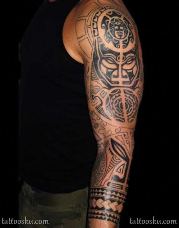 Polynesian Tattoos Aquarius Polynesiantattoos Sleeve Tattoos Full Sleeve Tattoo Design Best Sleeve Tattoos