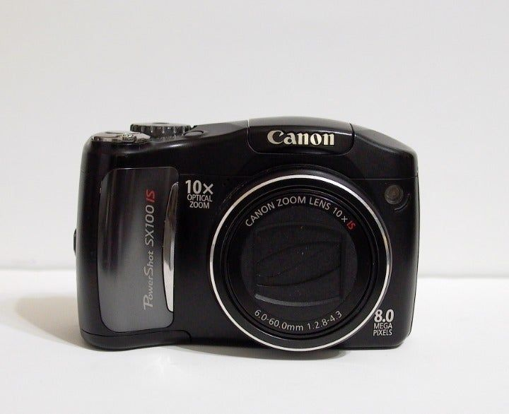 Working Canon Powershot Sx100is 8mp Digital Camera Minor Surface Marks No Screen Errors Observed During Testing Lcd Has No Powershot Canon Powershot Camera