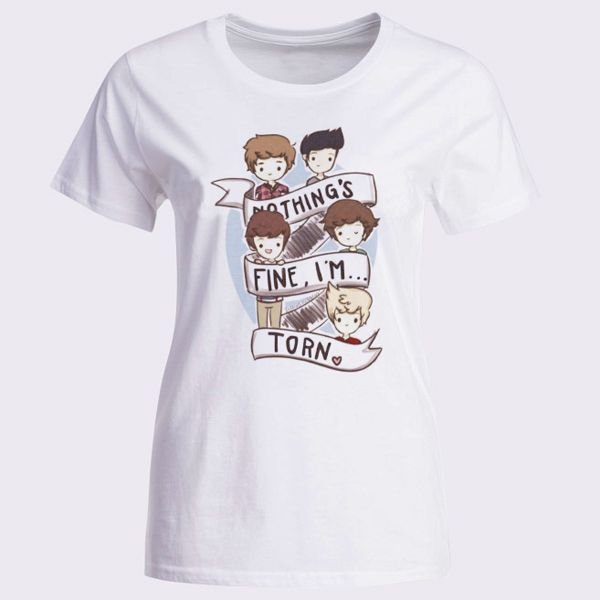 1D One Direction Cartoon Womens T-Shirt - T-Shirts & Tank Tops