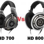 HD700 vs HD800 - Comparison between Sennheiser HD 700 and HD 800
