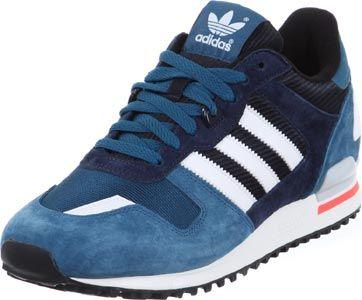 Adidas ZX 700 schoenen blauw zwart neon