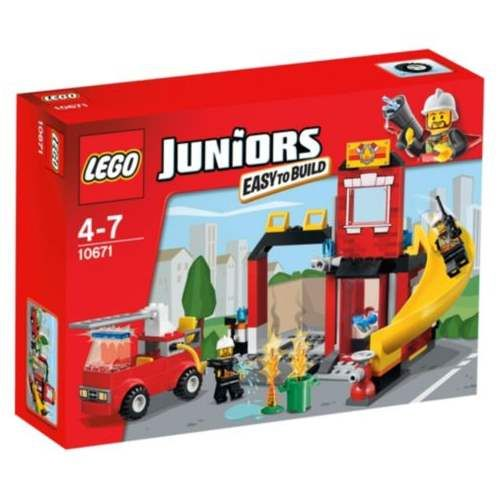 Bring the fire station to life and help the firefighters tackle the fire! The LEGO Juniors Fire Emergency is a perfect introduction to LEGO brick building.