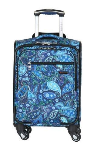 1bfc9372a Ricardo Beverly Hills Luggage Sausalito Superlight 2.0 17-Inch 4W Universal  Carry-On, Rhythm/Blue