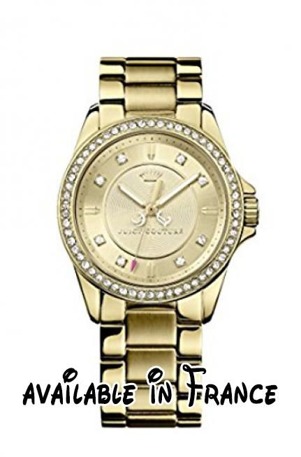 f58055435ff2db B00FYUA2TK   Juicy Couture - 1901076 - Montre Femme - Quartz - Analogique -  Bracelet Or