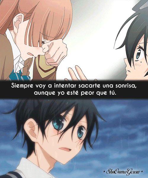 Siempre voy a intentar #ShuOumaGcrow #Anime #Frases_anime #frases