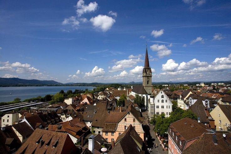 Além de ser uma cidade agradável, outra vantagem de estudar em Radolfzell é  poder conhecer três países de língua alemã de barco ou bicicleta e praticar  o que se aprendeu!