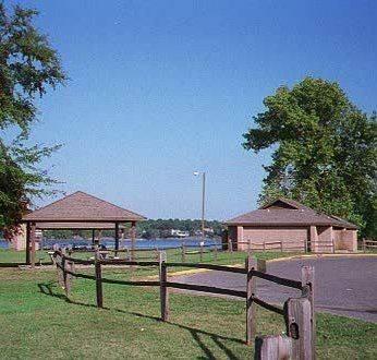 Ebenezer Park of Rock Hill, South Carolina - It is a popular place for camping and launching boats onto Lake Wylie. It has an excellent picnic area with a great view of the lake.