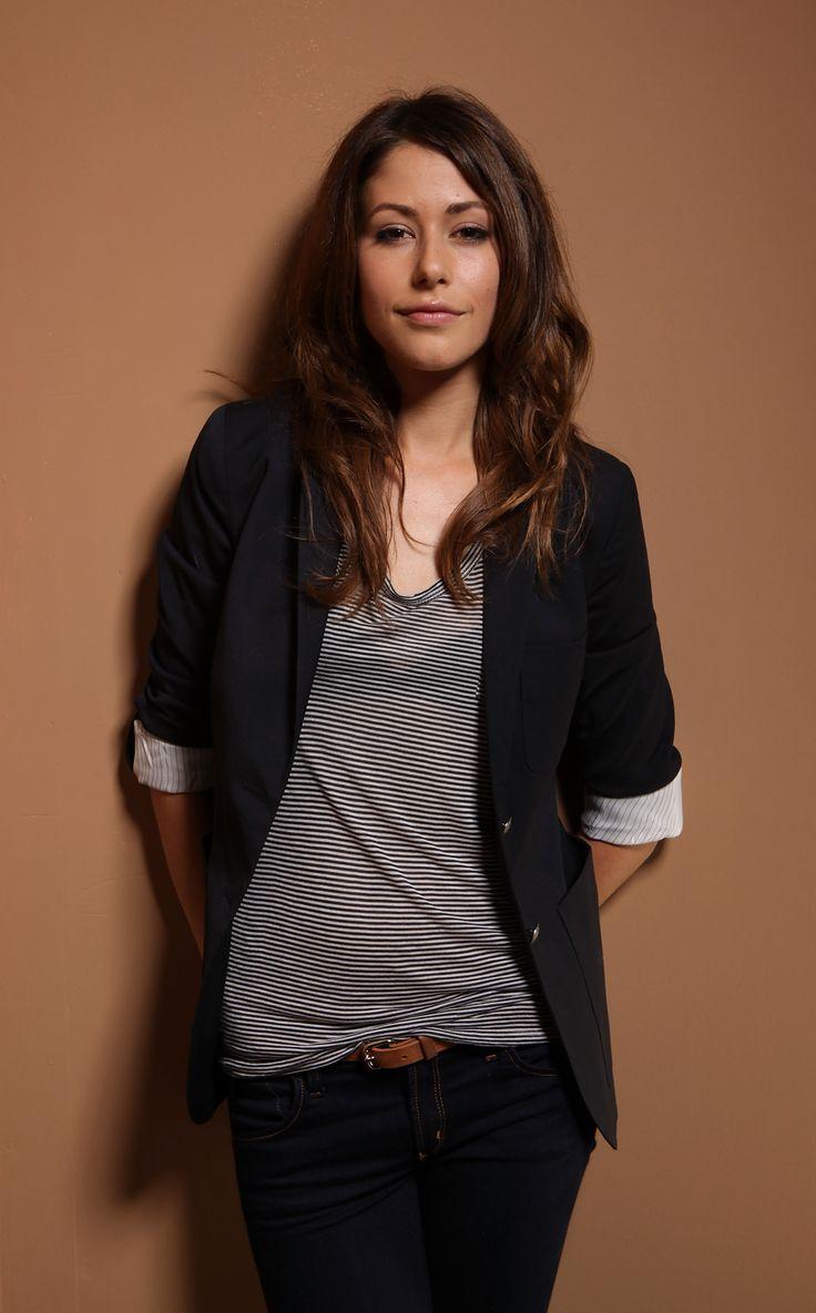 Canadian model Amanda Crew