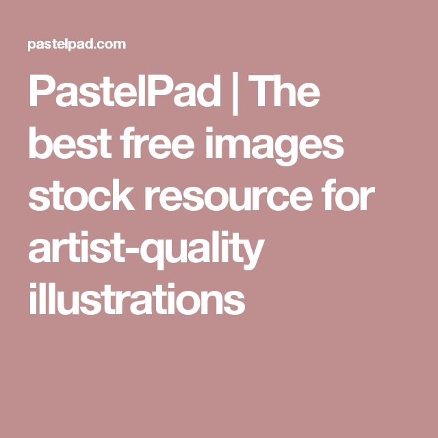 PastelPad | The best free images stock resource for artist-quality illustrations