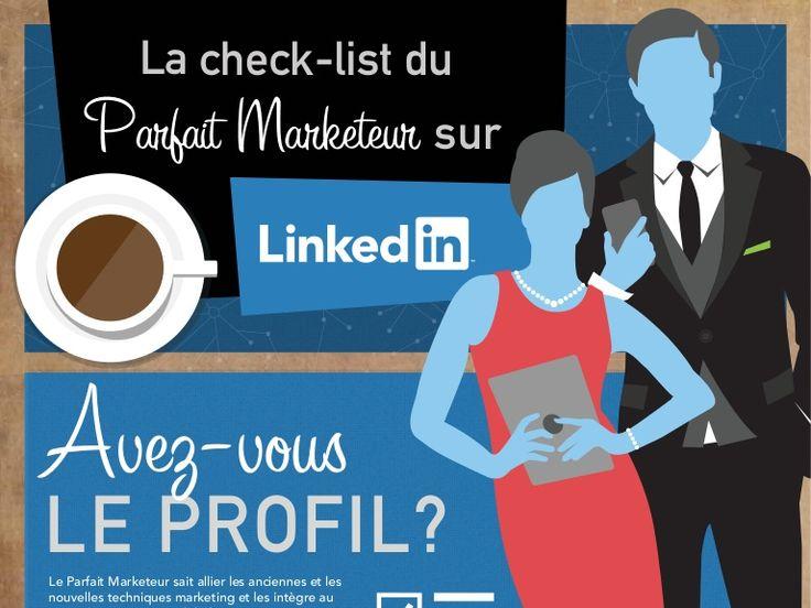 La check-list du Parfait Marketeur sur LinkedIn