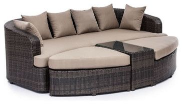 Cove Beach Lounge Set transitional-outdoor-sofas