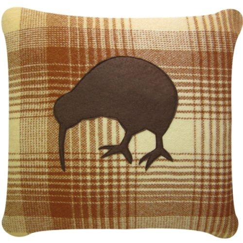kiwi blanket cushion