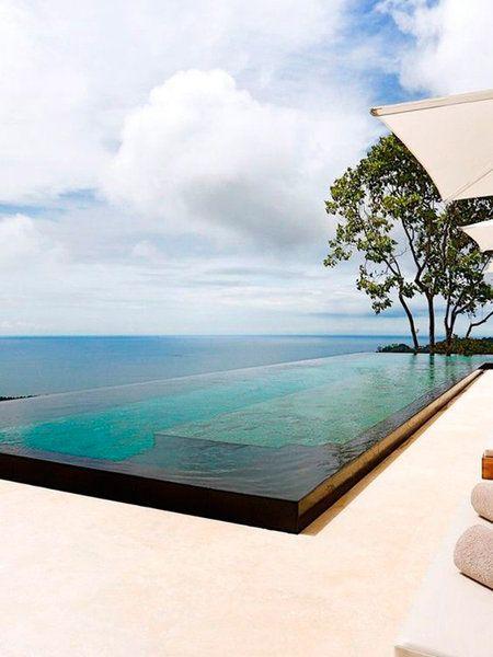 33 jardines con piscinas de ensue o piscinas infinity piscinas albercas y pool piscina - Piscinas de ensueno ...