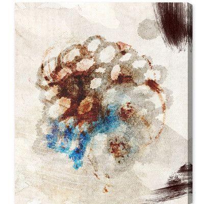 "Mercury Row Mi Panal De Abejas Painting Print on Canvas Size: 42"" H x 36"" W"