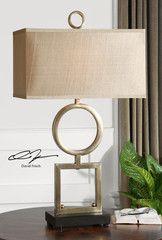 Rashawn Coffee Bronze Table Lamp   Rug & Home