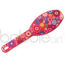 Bobble Art Flower Power Hair Brush