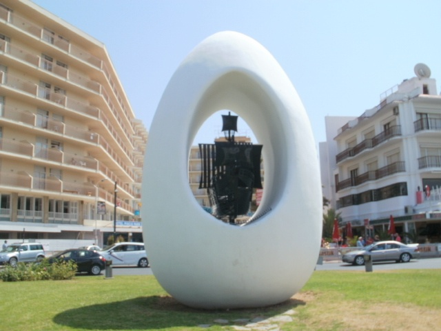 The egg! San Antonio,Ibiza