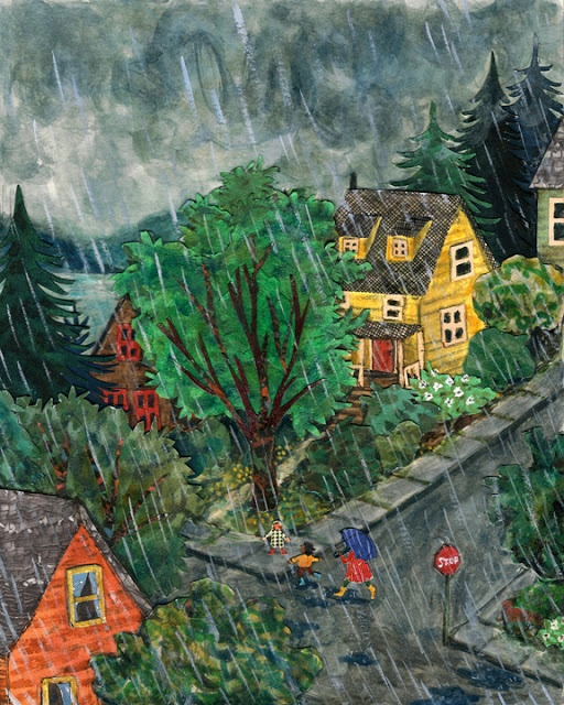 """""""On The Days That It Rains"""" by Phoebe Wahl in ISSUE 6 :: WATER of Taproot Magazine"""