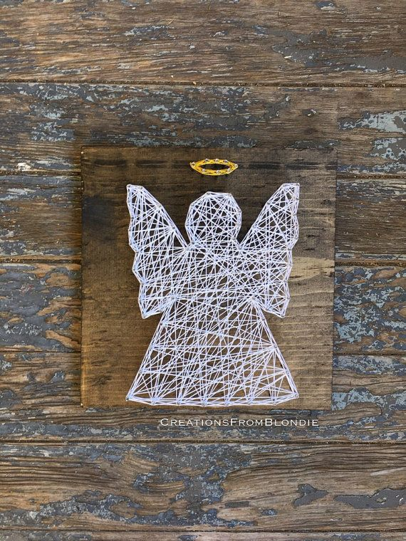 Angel String Art Sign, MADE TO ORDER