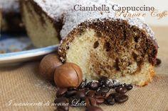 Ciambella+cappuccino+panna+e+caffè