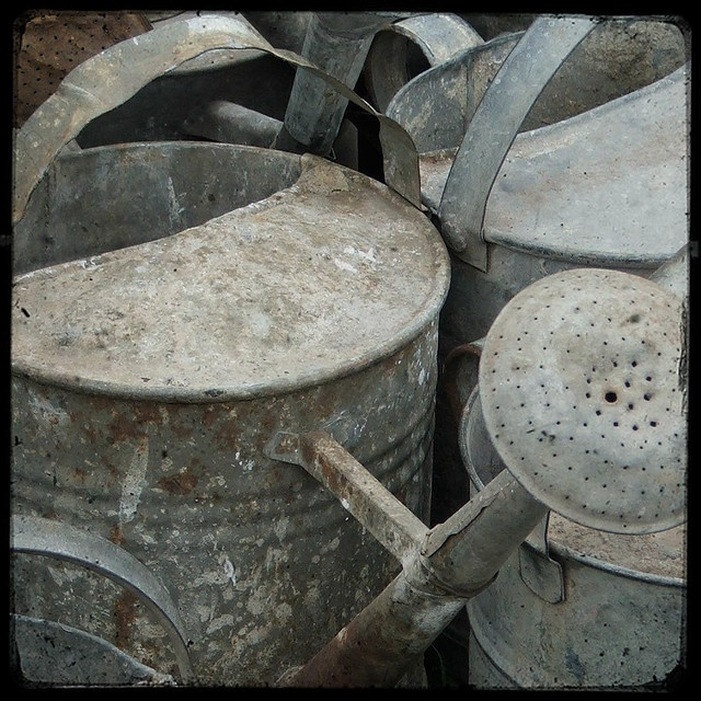 17 best images about vintage everything galvanized on for Galvanized well bucket