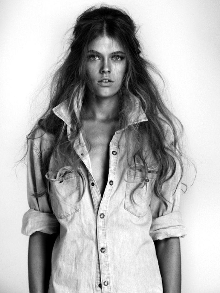 \\\Stones Foxes, Messy Hair, Wild Hair, Long Hair Dos, Denim Shirts, Longhair, Big Hair, Hair Style, Beach Hair