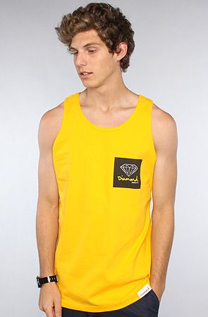 The OG Sign Tank in Gold by Diamond Supply Co.