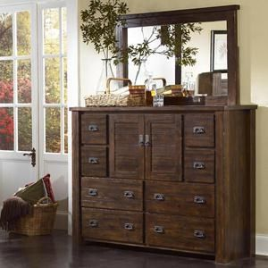 Nebraska Furniture Mart – Progressive Mexico Dresser and Mirror
