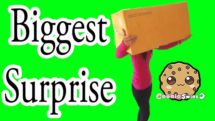 Biggest Surprise Box Fan Mail Packages Opening from Cookie Swirl C Fans
