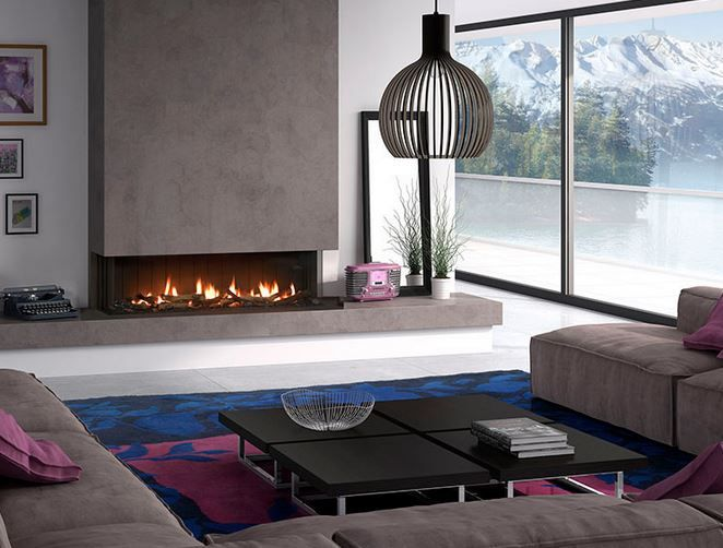 M s de 25 ideas incre bles sobre chimeneas minimalistas en - Chimeneas gas natural ...