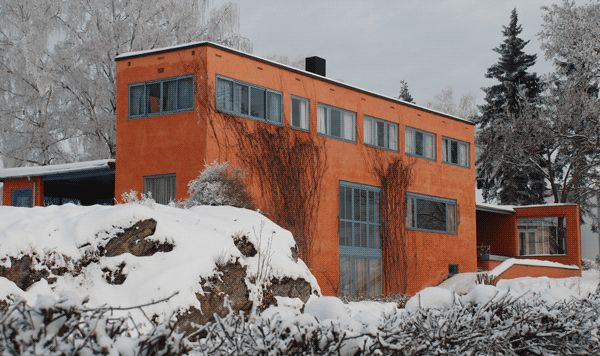 NO, Hamar, Villa Riise. Architect Arne Korsmo with Sverre Aasland, 1935.