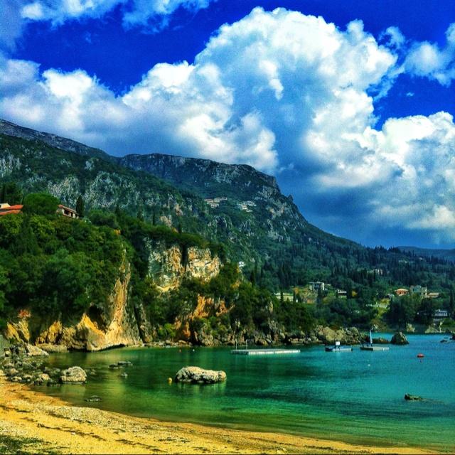 Palaiocastrizia, Corfu